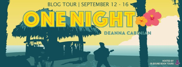 One Night tour banner